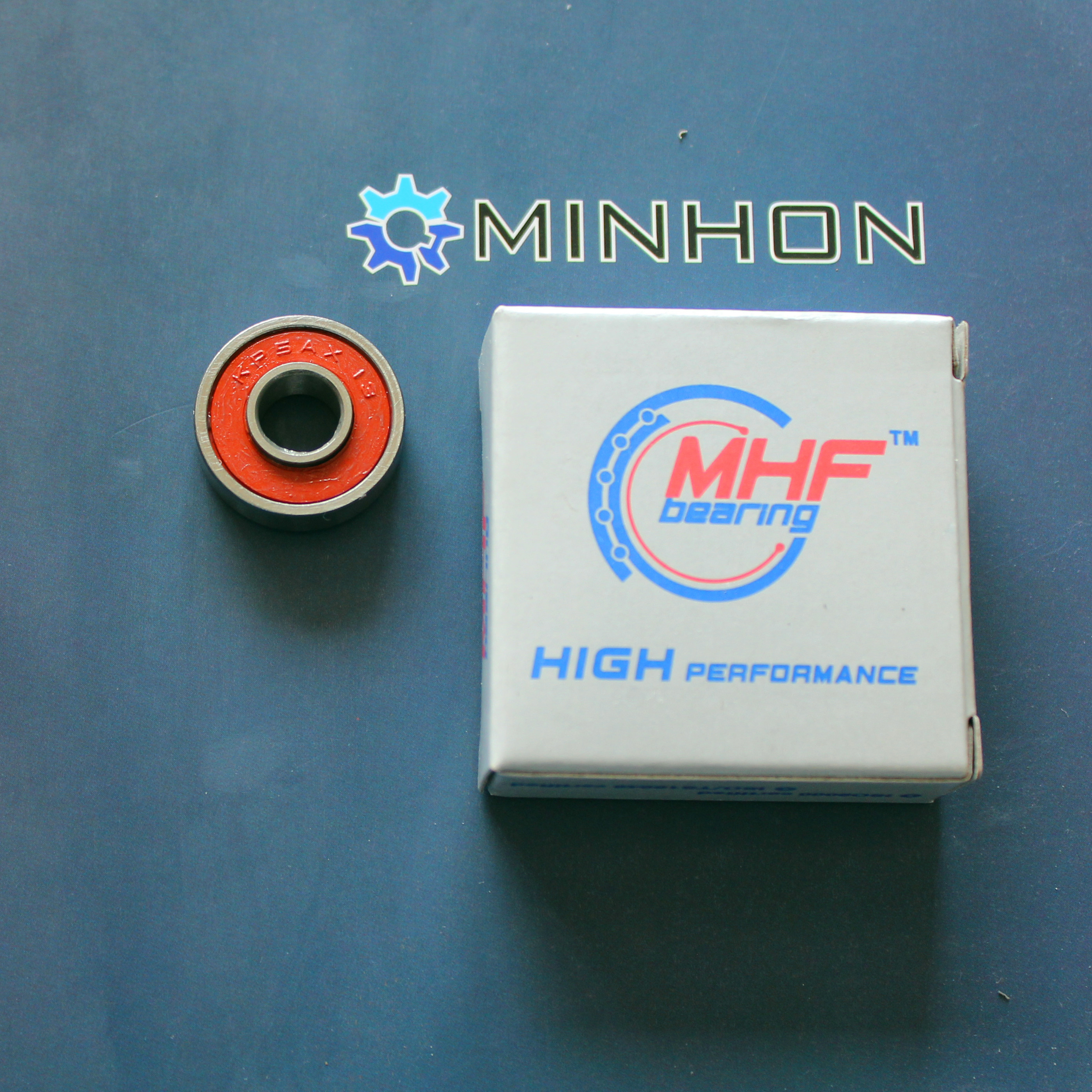 Usado para mountain bike kp5ax único tamanho completo do rolamento de esferas do design da bola 7.92*20.59*5.88mm