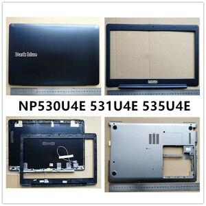 Новый ноутбук для Samsung 530U4E 531U4E 535U4E версия без сенсорного экрана ЖК-задняя крышка верхний чехол/передняя панель/Нижняя основа чехол