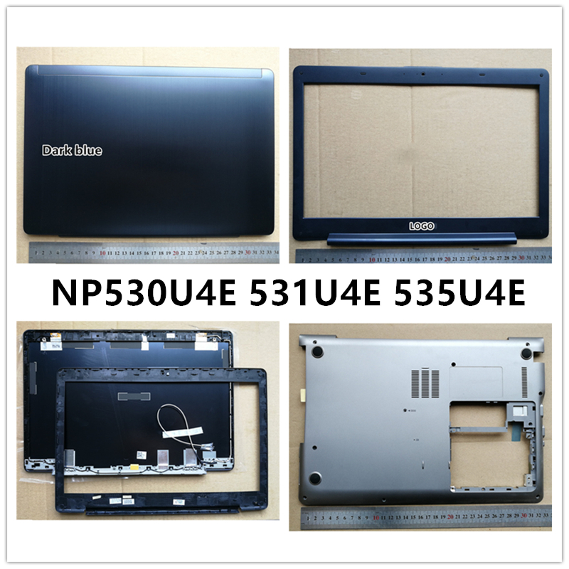 New Laptop For Samsung 530U4E 531U4E 535U4E Non-touch Screen Version LCD Back Cover Top Case/Front Bezel/Bottom Base Cover Case