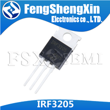 10 adet/grup IRF3205 TO220 IRF3205N IPF3205PBF TO 220 N kanal güç MOSFET