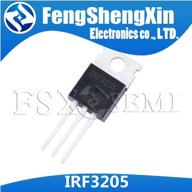 10 pz/lotto IRF3205 TO220 IRF3205N IPF3205PBF TO 220 N Channel MOSFET di Alimentazione