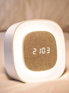 Xiaomi Alarm-Clock Bedside Touch-Sensor Night-Light Time-Display Wake-Up-Lamp LED Digital