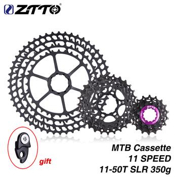 ZTTO MTB 11 prędkości 50T SLR kaseta 11-50T 11s szeroki stosunek UltraLight 360g CNC Freewheel Mountain Bike części rowerowe dla X 1 9000 tanie i dobre opinie STEEL 1150SLR 108 dźwięki Wybiegiem 11-speed