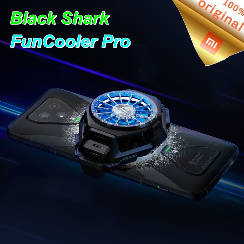 Original BR20 Xiaomi Black Shark 3 Pro 2 Pro Fun Cooler liquid Cooling Fan RGB for Mi 10 Pro Radiating Device For Android iOS(China)