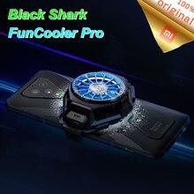 Ventilador de refrigeração líquido br20, original, xiaomi, tubarão 3 pro 2 pro, cooler, líquido rgb para mi 10 pro, radiação dispositivo para ios android