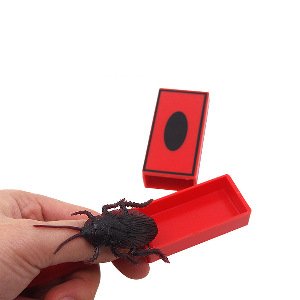 Close-up Magic Tricks Cockroach Summon Sticks Magic Wand Prop Amazing Scary Toys Kids Halloween Party Toys Funny Scary Toys J11