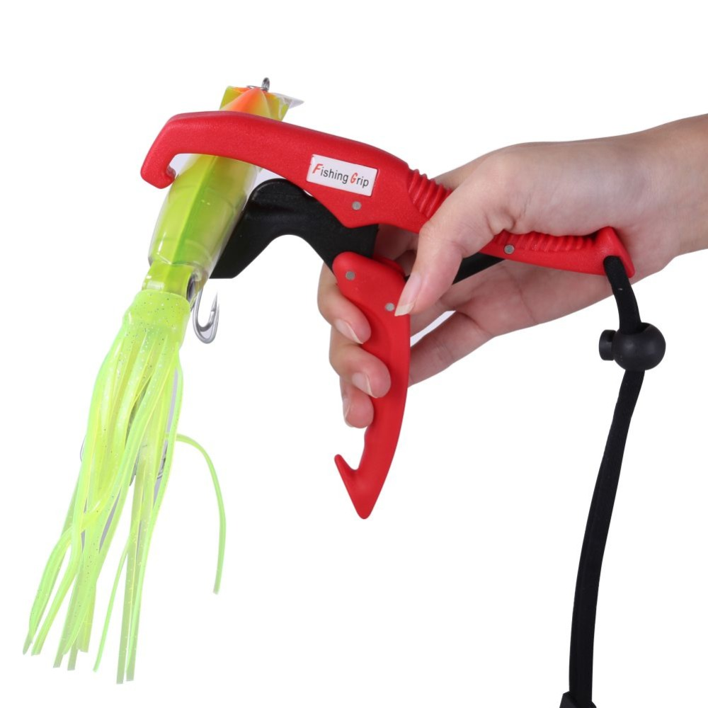 Balight 1PC Practical Fishing Lip Grip Gripper Holder Floating Grabber Plier Controller 4 Colors Fishing Pliers