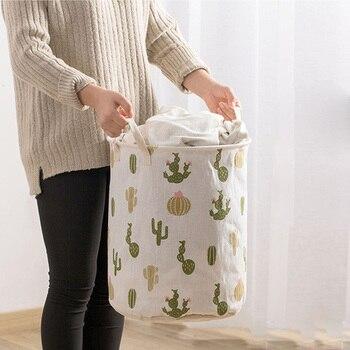 Large Capacity Clothes Storage Bag Clothing Laundry Basket Bag Folding Laundry Basket  Children Toy Storage Bucket Waterproof
