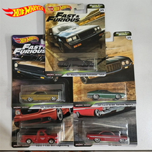 Original Hot Wheels Model Car Toy Diecast 1/64 Car Collection Hot Toys for Boys Fast and Furious Collector Edition Gift GBW75