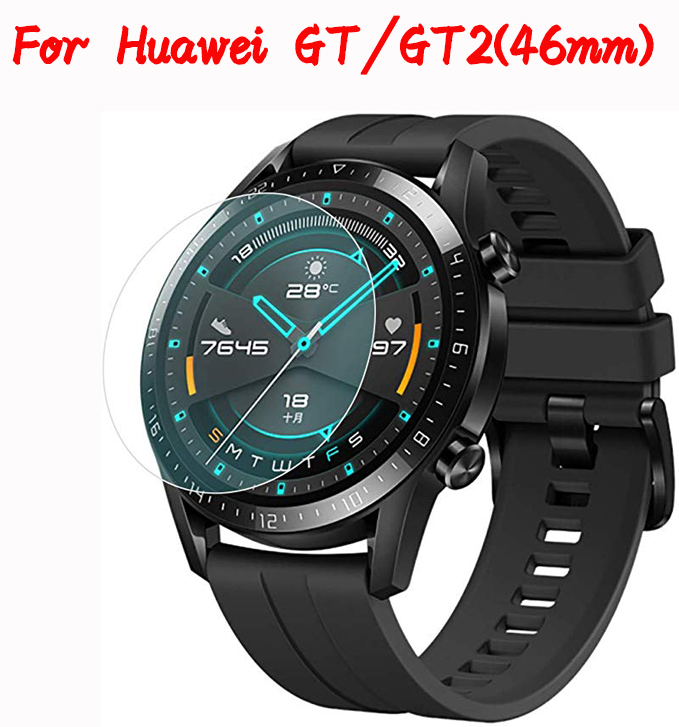 Tempered Glass For Huawei Watch GT 2 (46mm) Screen Protector On Huawey Watch GT2 46mm Explosion Proof Protective Glass Film