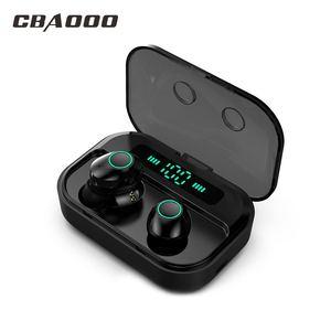 CBAOOO TWS 5.0 Bluetooth Earph