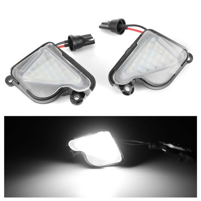 2x Canbus blanc LED sous miroir latéral lumière flaque lampe pour skoda Octavia Mk3 5E 2012-2017 superbe 2 Octavia 3