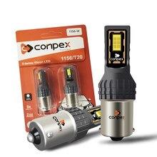 Conpex 2x 2200LM Canbus No Error P21W 1156 BA15S LED Bulb For Kia Rio 3 4 2015 2016 2017 2018 LED Daytime Running Light DRL Lamp