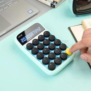 Image 2 - Youpin Lofreeบลูทูธแป้นพิมพ์ตัวเลขรองรับระบบMulti Backlitแป้นพิมพ์Micro USB 800mAhเครื่องคิดเลขสมาร์ท