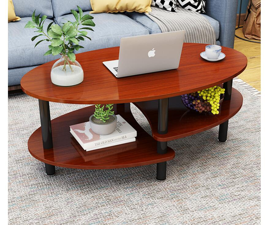 Simple coffee table simple modern living room tea balcony Nordic oval small apartment creative economy