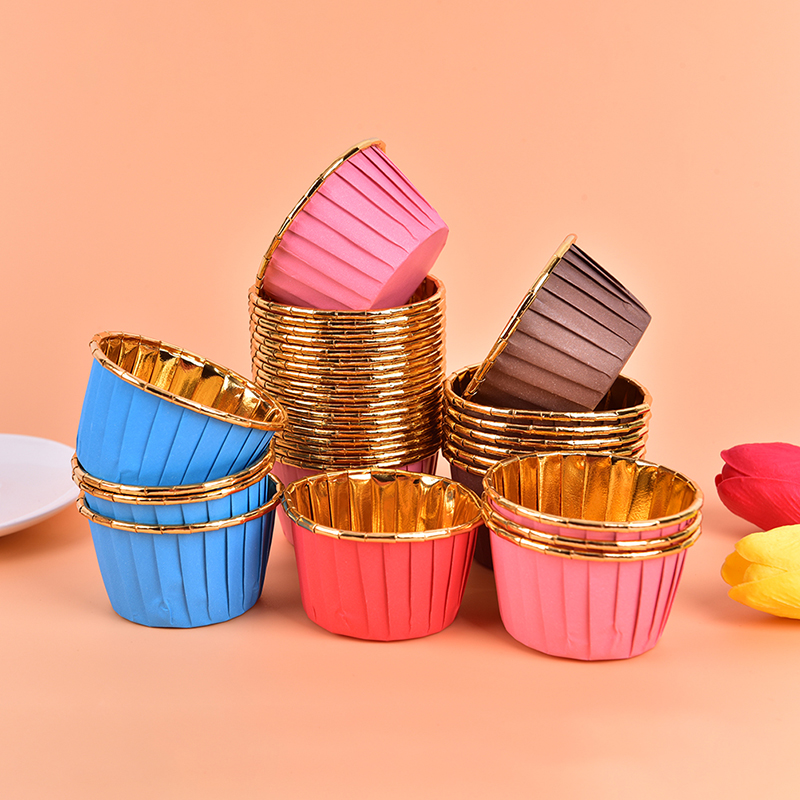 Pastry Tools Liner Cake Paper Cups Muffin Cases Baking Cup Cupcake Wrappers