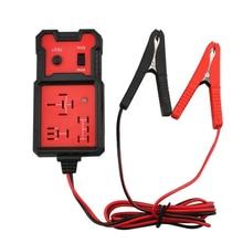 릴레이 테스터 12V 범용 전자 자동차 자동차 회로 감지기 배터리 검사기 자동 복구 도구
