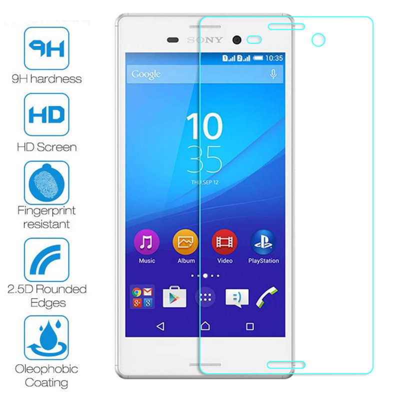 Telefone vidro protetor temperado para sony xperia xz premium xzs xz1 xz2 compacto premium z l36h vidro temperado