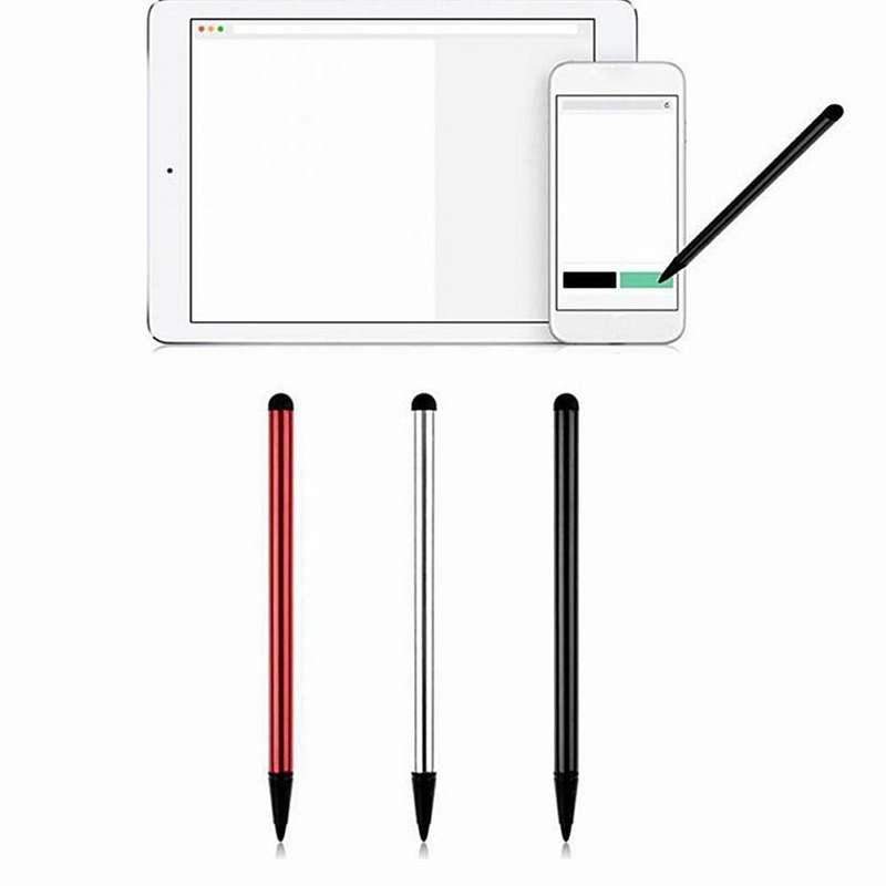 3pcs High Quality Capacitive Universal Stylus Pen Touch Screen Stylus Penci For Samsung IPad Apple Pencil Case Tablet PC