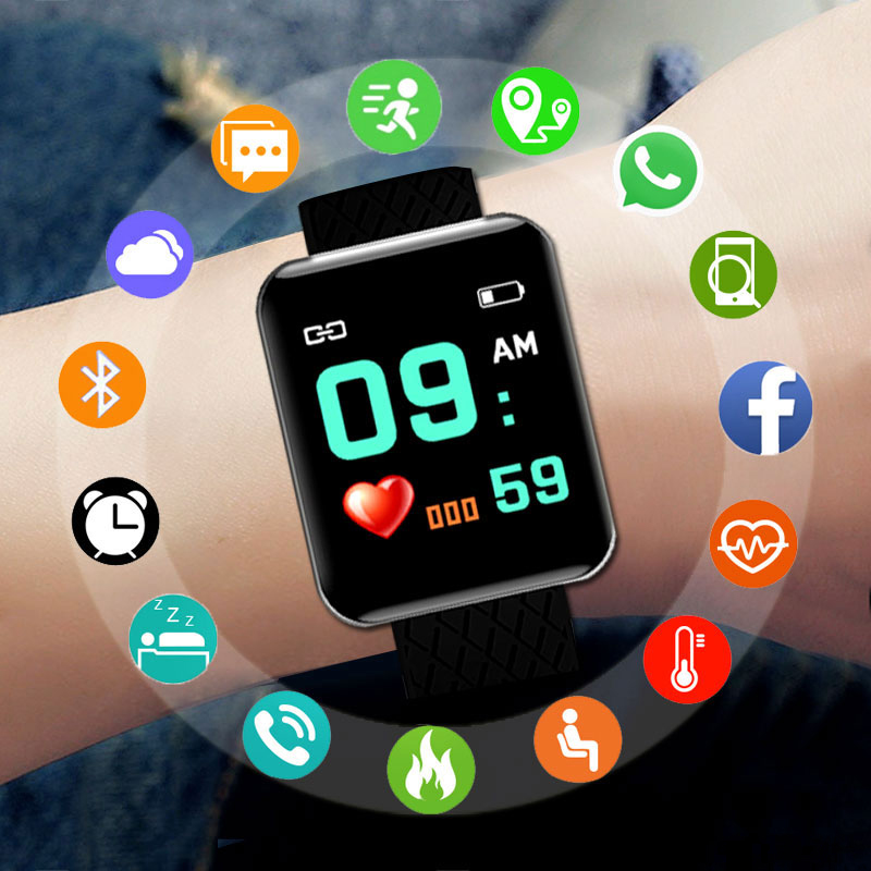New Sport Watch Kids Watches Children For Girls Boys Wrist Watch Digital LED Electronic Wristwatch Child Clock Students Hours