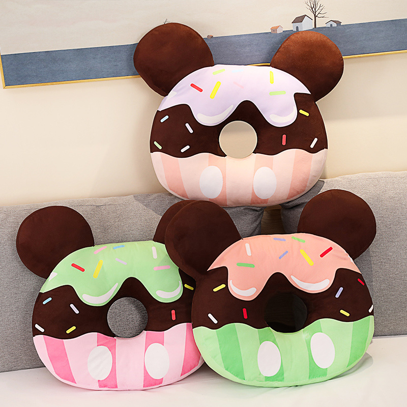 donut travesseiro almofada crianças brinquedos presente aniversário