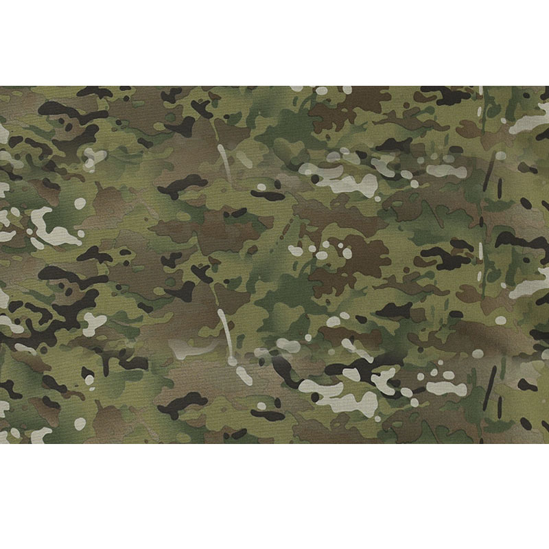 1.5m Width 1050D Cordura MC Camouflage Fabric Multicam CP Nylon PU Coating Cloth Water Resistant Durable Bags Tent Material