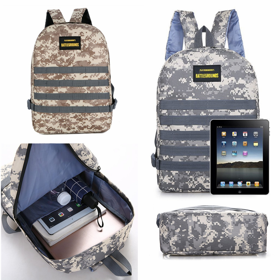 Game <font><b>PUBG</b></font> Level 3 <font><b>Backpack</b></font> Playerunknown's Battlegrounds Cosplay Prop <font><b>Backpack</b></font> image
