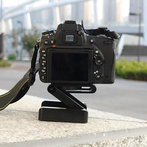 Image 5 - ALLOYSEED pliant Z Flex inclinaison trépied tête en alliage daluminium pliant Z inclinaison tête rapide libération plaque support pour téléphones caméra