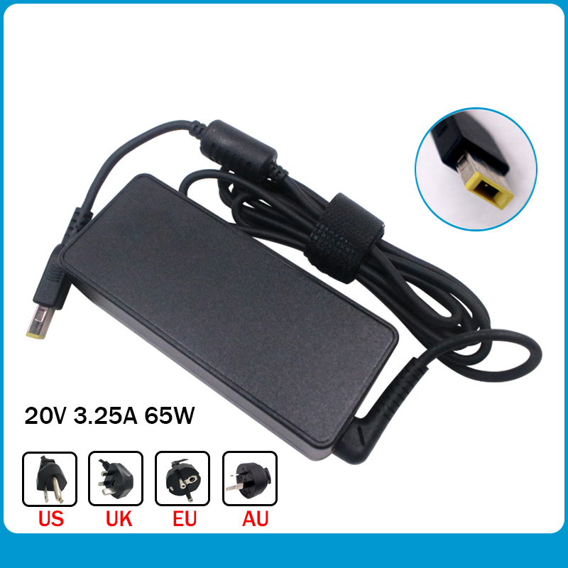 Original 20V 3.25A 65W Square Tip Notebook Power Supply For Lenovo ADLX65NLC3A ADLX65NDC3A ADLX65NCC3A Laptop AC Adapter Charger