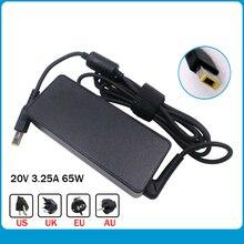 Original 20V 3.25A 65W Square tip Notebook Power Supply for Lenovo ADLX65NLC3A ADLX65NDC3A ADLX65NCC3A Laptop AC Adapter Charger