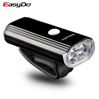 Easydo rowerowa głowica rowerowa przednia 4400mAh 1000 lumenów USB akumulator XPG 10W reflektor rowerowy 8 tryby oświetlenia EL-1110 tanie i dobre opinie CN (pochodzenie) Kierownica Baterii 1000Lumens