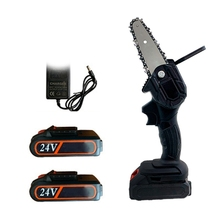 Saw Mini Chain-Saw Woodworking Lithium-Battery One-Handed Garden Electric Pruning Rechargeable