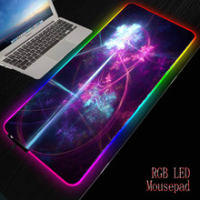 Large Mouse-pad LED Lighting Colorful RGB Gaming Mouse Pad USB Cable Keyboard Gamer Cool Desk for PC Laptop Desktop