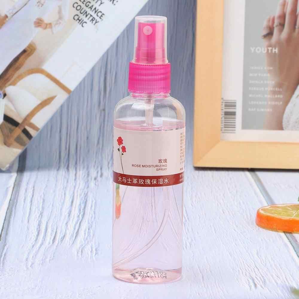 105ML pétalos de rosa naturales agua hidratante aerosol hidratante tóner facial revitalizante tonificadores faciales contracción poros de la piel Tóner para el cuidado