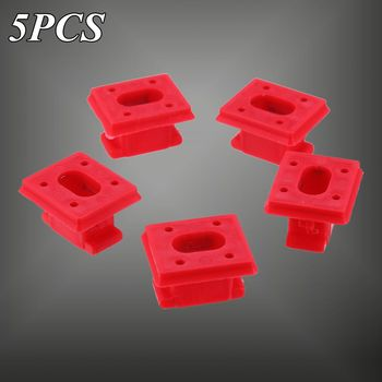 5PCS/10PCS Interior Panel Fixing Buckle For BMW E46 3 E65 7 Series X3 E85 Dashboard Dash Trim Strip Clips Red Insert Grommets image
