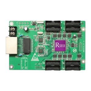 Image 2 - Huidu R5018 HD R5018 Huidu reklama wyświetlacz led HD R5018 RGB otrzymaniu karty 8xHub75E pracy portu z HD C15C C35C HD T901
