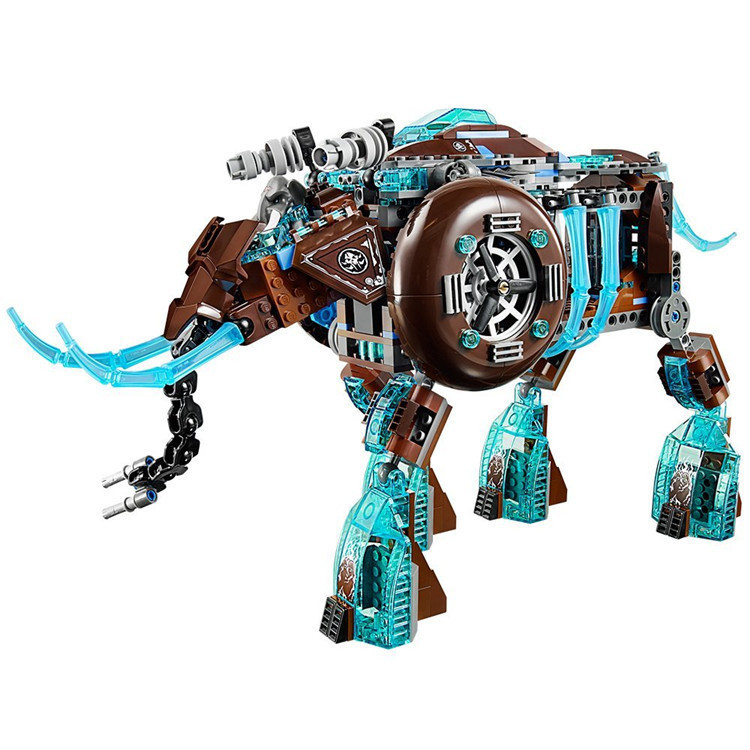 603pcs Chimaed Maula's Ice Mammoth Stomper Buidling Blocks Model FIT 70145 Toys For Children