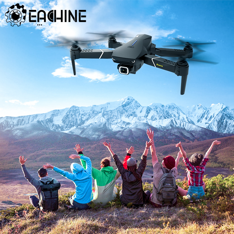 Eachine E520/ E520S One Battery GPS WIFI FPV Quadcopter With 4K/1080P HD Wide Angle Camera Foldable Altitude Hold RC Drone|RC Quadcopter| - AliExpress