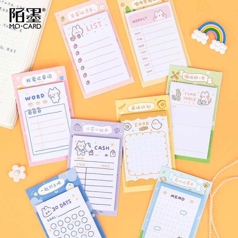 30 Pages Checklist Planning Pad Tear-off Daily To Do List Weekly Goals Notepad Organizer For Office Home Schedular Memo