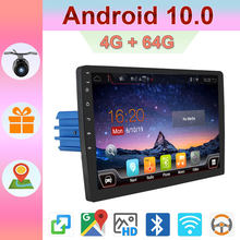 Auto Radio 1 Din Android 10.0 Car Radio dengan Navigasi GPS Central Multimidia 4G Ram + 64G ROM 1din DVD Automotivo Bt WIFI AUX RDS(China)