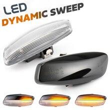 Dynamic LED Side Marker Light Signal Blinker for Citroen C4 Coupe Picasso C3 C5 X7 DS3 DS4 Peugeot 207 308 3008 5008 RCZ Partner
