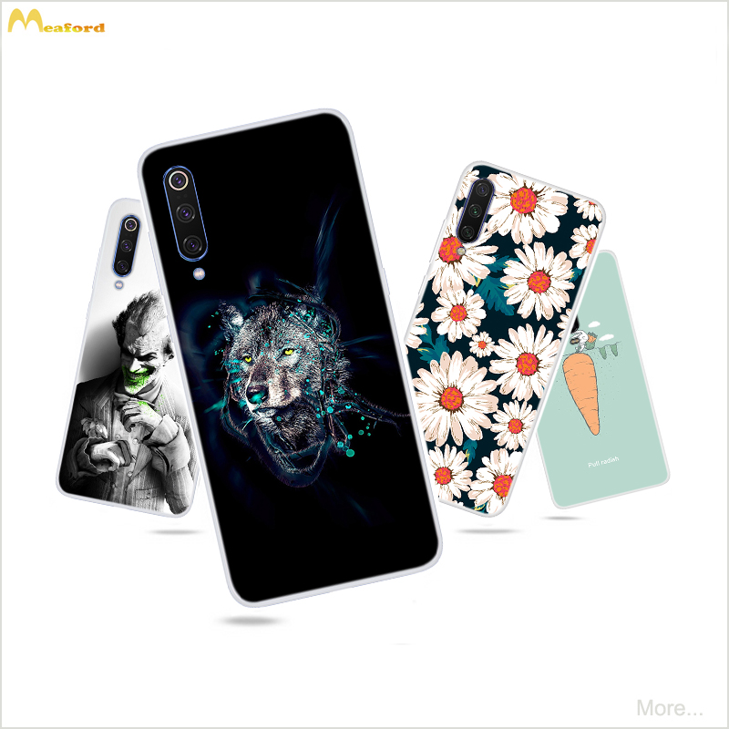 For <font><b>Xiaomi</b></font> Mi 9t pro Case Cartoon Silicone Phone Cover For <font><b>Xiaomi</b></font> Mi 9 lite Case TPU Soft For <font><b>Xiaomi</b></font> <font><b>Mi9t</b></font> pro <font><b>128gb</b></font> <font><b>global</b></font> Case image
