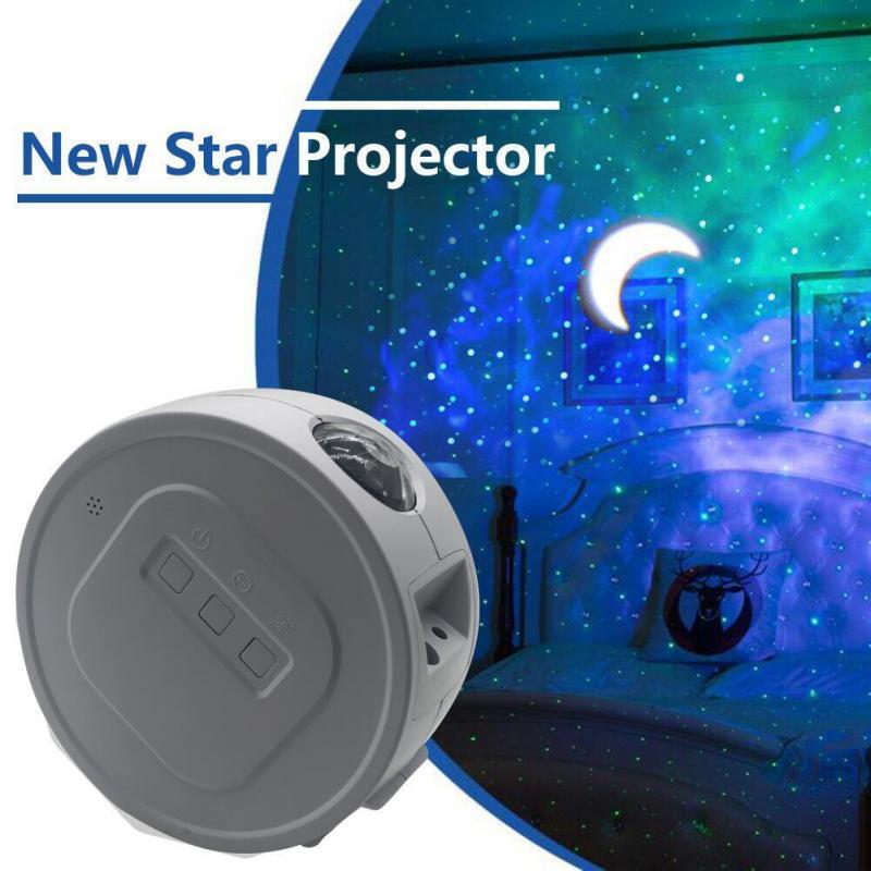 Proyector de Ocean Star LED Star Night, proyección de luz, nebulosa, sueño profundo, luz de estrellas, rotación de 360 grados, lámpara de iluminación nocturna para chico