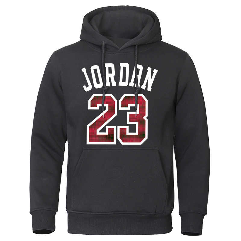 2019 Autumn Winter Men Hoodies Jordan 23 Printed Male Sweatshirts Fashion Warm Streetwear Man Casual High Quality Mens Pullovers