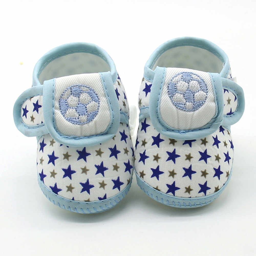Baby Booties Newborn Shoes Infant Star Girls Boys Soft Sole Prewalker Warm Flats Shoes Crib Footwear Scarpe Bambino First Walker