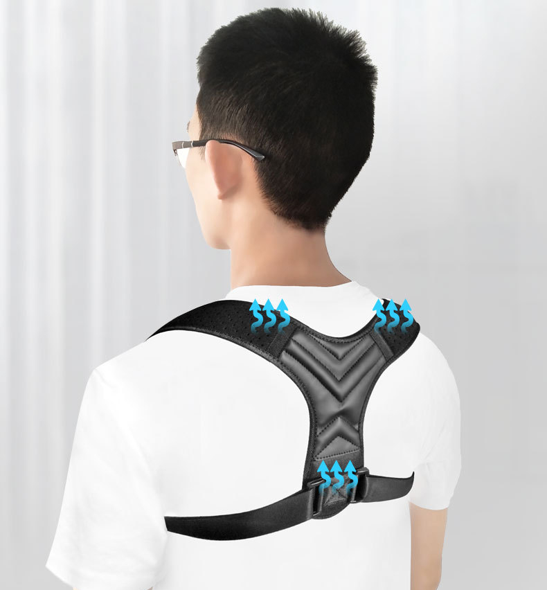 Posture Corrector for Back Belt Prevent Slouching Relieve Pain Posture Straps Clavicle Support Brace for Women Men 40-90 KG(China)