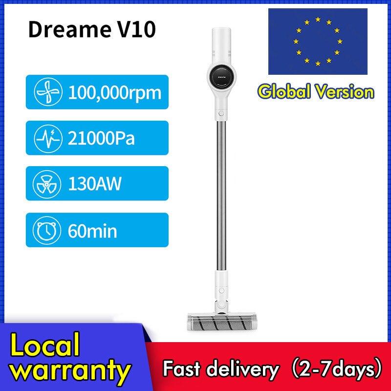Ручной пылесос Dreame V10 Boreas, портативный беспроводной пылесос V9 V9P 22 кПа (Код: 12ALICUMPLE11)