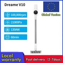 (Código: 12alicumple11) dreame v10 boreas handheld aspirador portátil sem fio atualização de v9 v9p 22kpa sucção
