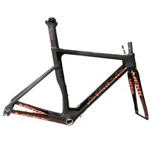 Super Light Italy Meik 700C Carbon Road Bike Frame with Full Carbon Bicycle Fork Bike Seatpost Tapered Headset Bike Accessories цена