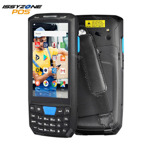 Image 1 - Issyzonepos Handheld Pda Android 8.1 Barcode Scanner 1D 2D Bar Code Reader Data Collector Pos Terminal Magazijn Levering Pda